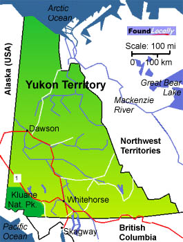 Yukons Mape on TransCanadaHighwaycom