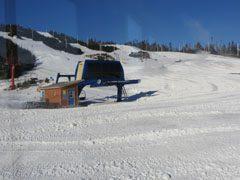 Clarenville White Hill Ski Hill, in winter