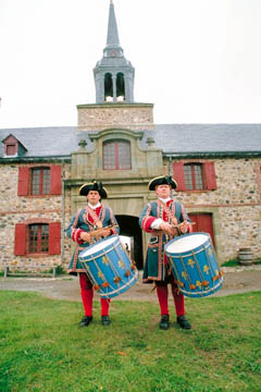 Fortress Louisbourg, on Cape Breton