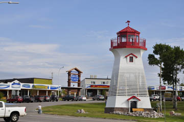 Terrace Bay Lighthouse at Simcoe Plaza